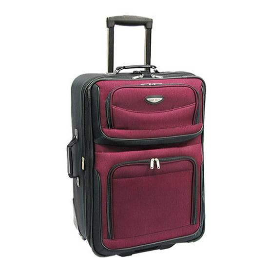 Traveler s Choice - Amsterdam 25 Expandable Wheeled Upright Suitcase ... a22b84ad3c