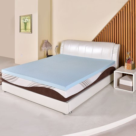 Costway 3 Gel Memory Foam Mattress California King Size Bed Mat