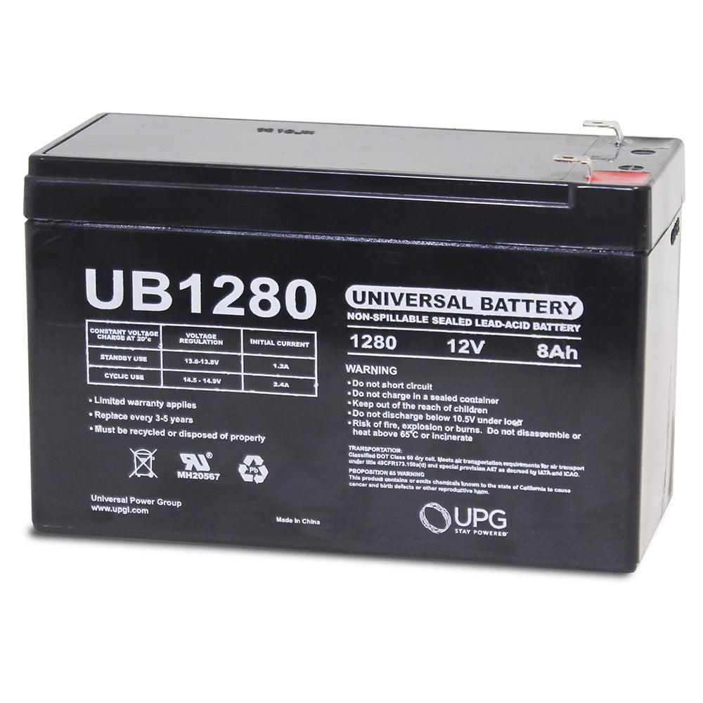 UB1280 12V 8Ah Home Alarm Security System Battery
