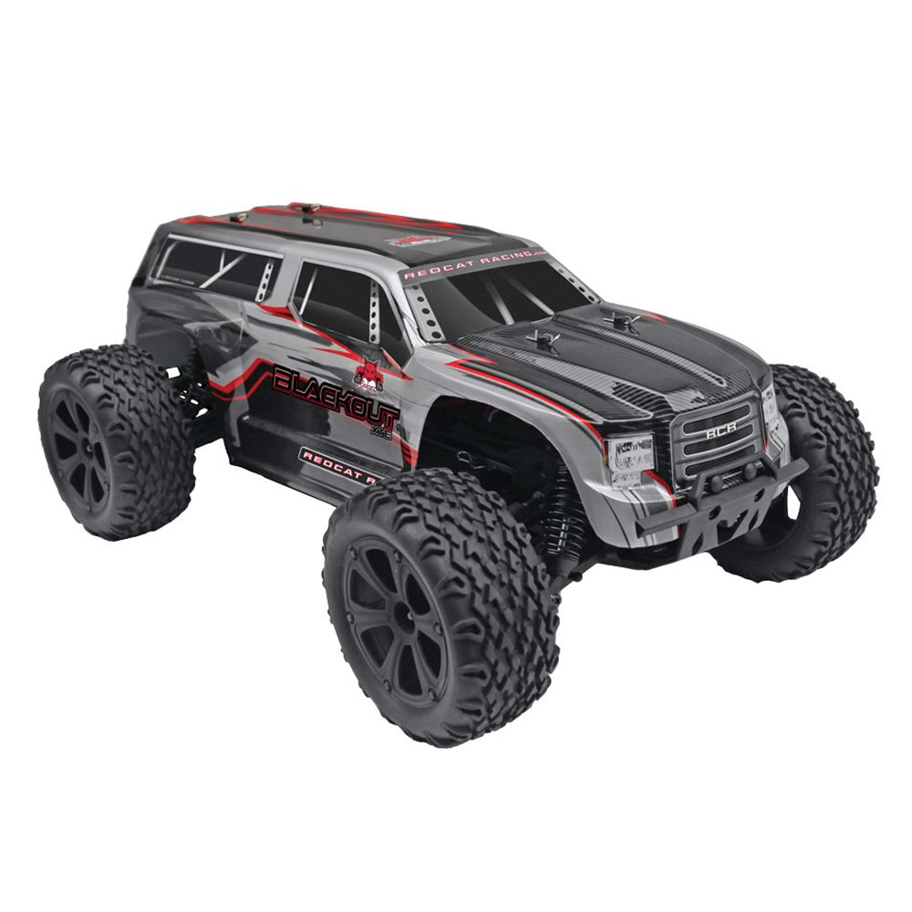 Redcat Racing Blackout XTE 1 10 Scale Brushed Electric RC Monster Truck SUV by Redcat Racing