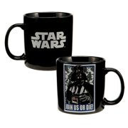 MyPartyshirt Star Wars Darth Vader 'Join Us Or Die' Black Coffee Mug