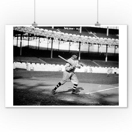 Art Wilson, NY Giants, Baseball Photo (9x12 Art Print, Wall Decor Travel Poster)](Ny Giants Room Decor)