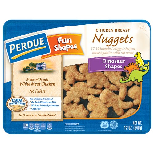 Perdue Fun Shapes Chicken Breast Nuggets, 12 oz