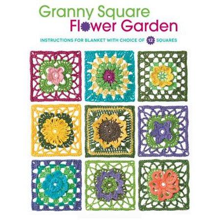 Granny Square Flower Garden - - Granny Square Stitch