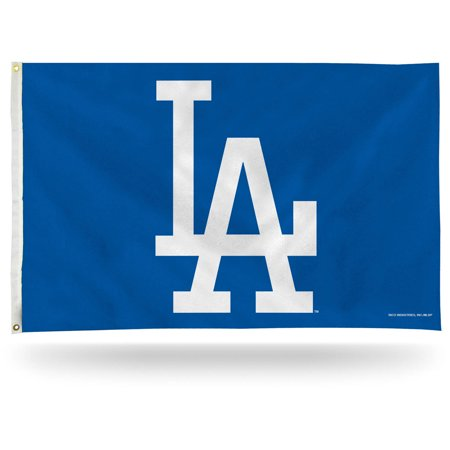 Rico Industries MLB 3' x 5' Banner Flag, Los Angeles Dodgers