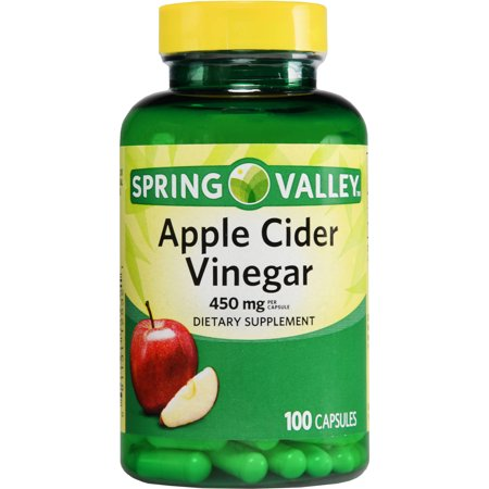 Spring Valley Apple Cider Vinegar Dietary Supplement