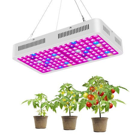 High Supply LED Grow Light, Reflector-Series 800W Full Spectrum Plants Grow Lamp with Double Chips for Hydroponic Indoor Plants Veg and
