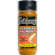 Johnny's Alaskan Salmon Seasoning, 4.25 oz