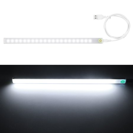 USB 6W LED Strip Hard Bar Light Bar Tube Lamp DC5V + Touch Control Switch 2 Lamp Fluo Strip