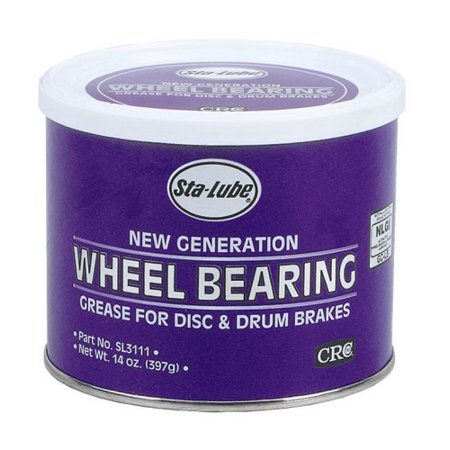 CRC SL3111 New Generation Wheel Bearing Grease for Disc and Drum Brakes - 14 wt. oz.