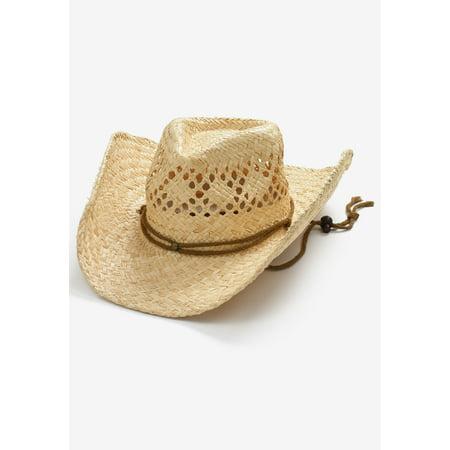 4a9d23bee2 Kingsize - Kingsize Men s Big   Tall Straw Cowboy Hat - Walmart.com