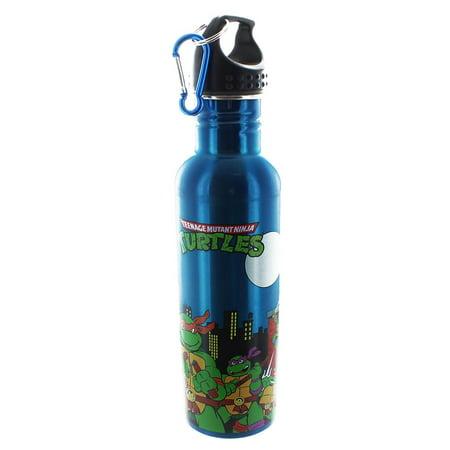 (Teenage Mutant Ninja Turtles Group 25oz Aluminum Water Bottle)