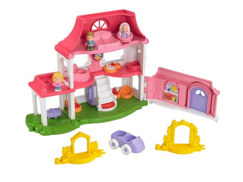 Fisher Price Little People Happy Sounds Home by FISHER PRICE