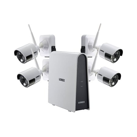 Lorex 980038146 4 Camera 1080p Wire-Free Security System, 16GB HDD