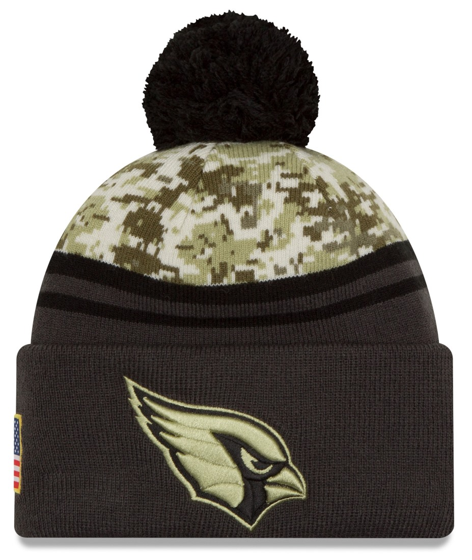 "Arizona Cardinals New Era 2016 NFL Sideline ""Salute to Service"" Sport Knit Hat by New Era"