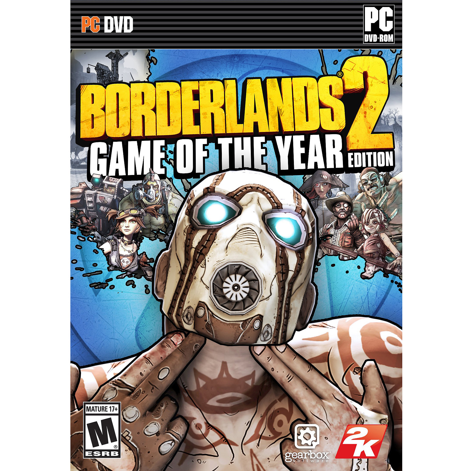 Borderlands 2: Game of the Year Edition (Digital Code) (PC)