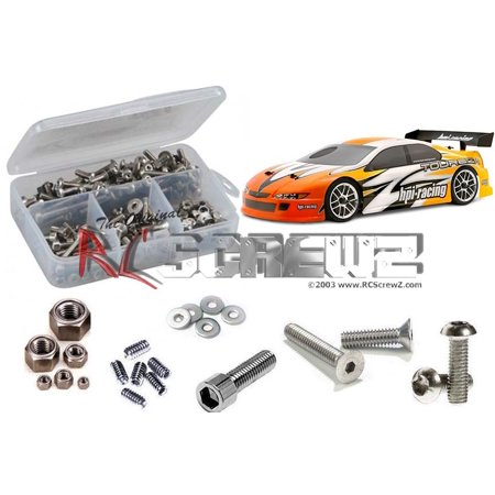 - RC Screwz Stainless Steel Screw Kit for HPI Racing RS4 3 RTR Evo #hpi026