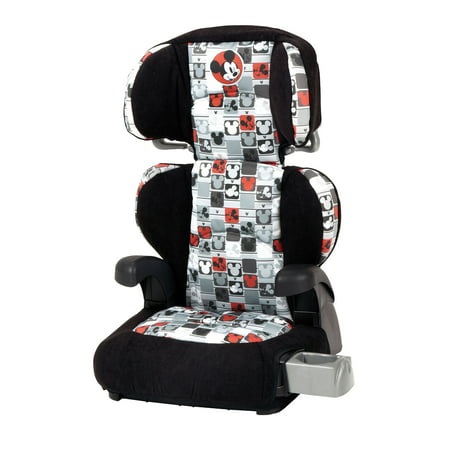 Disney Baby Pronto Booster Car Seat Mickey Patchwork
