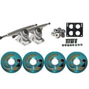 RANDAL LONGBOARD TRUCKS & WHEELS PACKAGE 180mm + BIGFOOT 65MM ISLANDERS BLUE