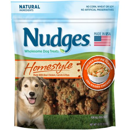 Nudges Dog Treats Chicken Pot Pie