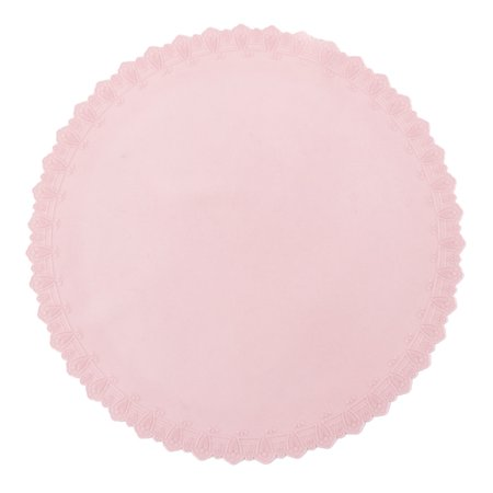 Kitchen Silicone Round over Bowl Pot Food Fresh Keeping Preservative Film Pink