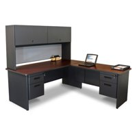 Marvel Pronto Desk with Return And Pedestal