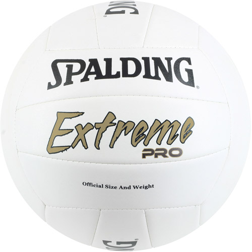 Spalding Extreme Pro Volleyball, White