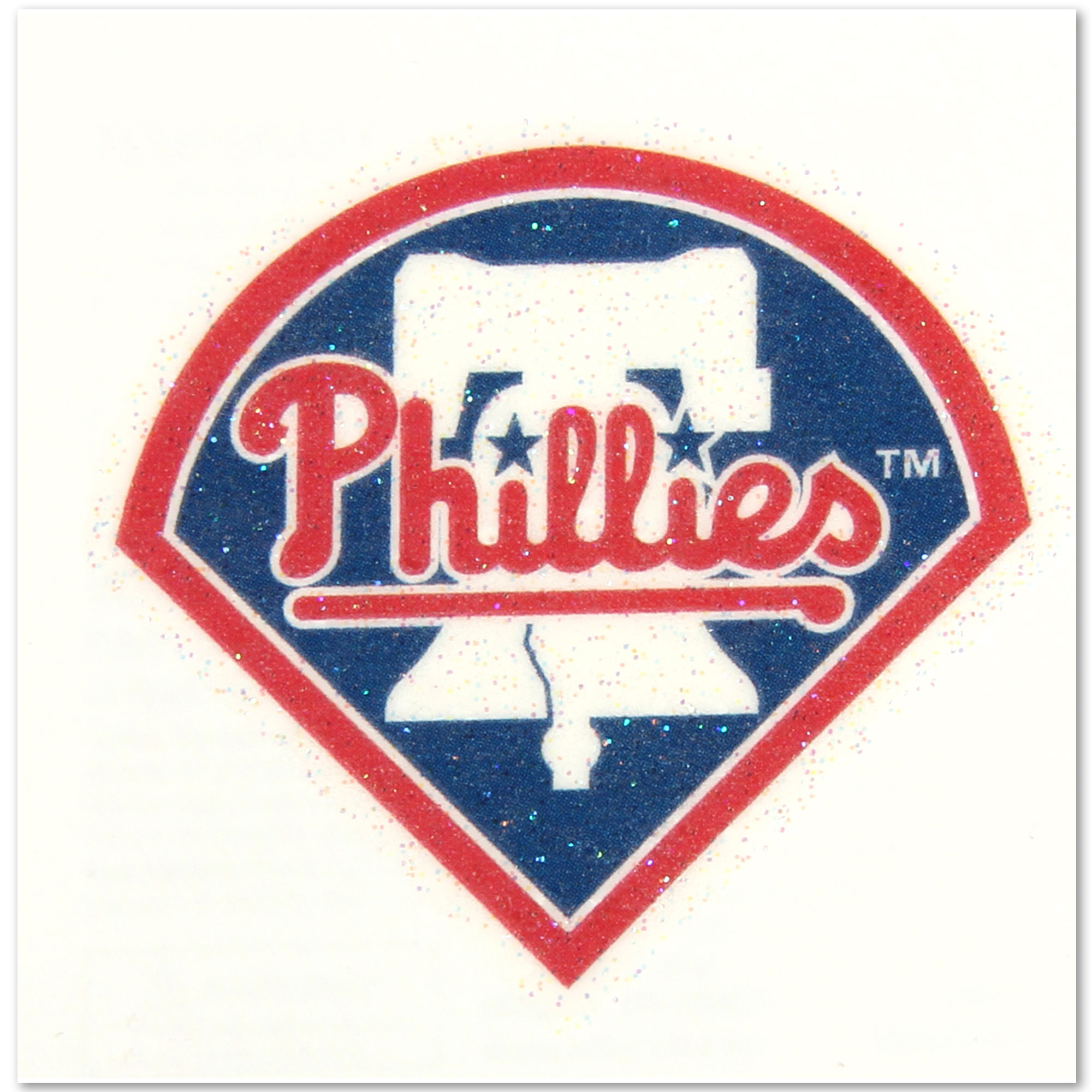 Philadelphia Phillies WinCraft Women's 2-Pack Glitter Tattoos - No Size
