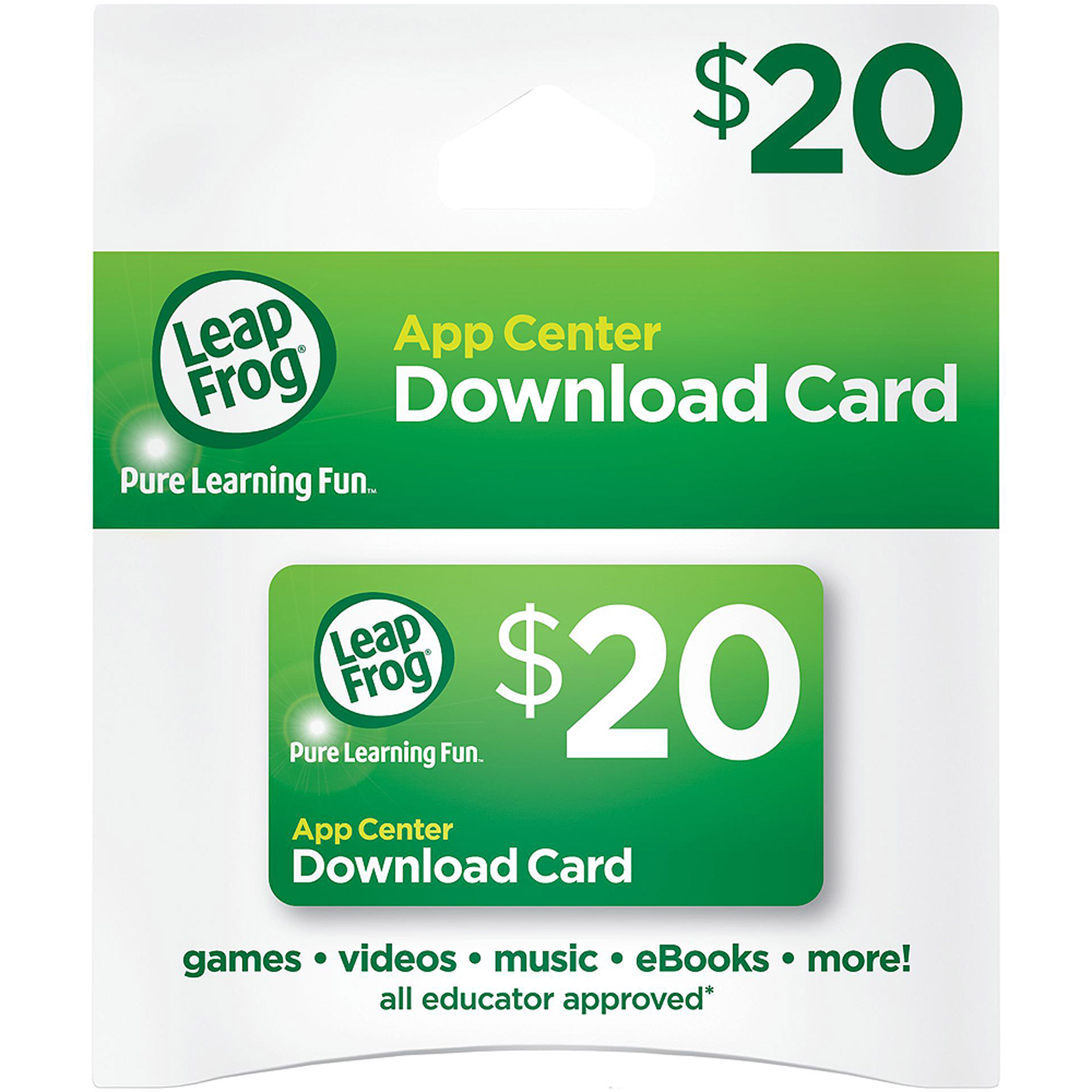 LeapFrog App Center Download Card (works with LeapPad tablets, LeapTV, LeapsterGS, Leapster Explorer and... by LeapFrog