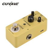 CUVAVE COMPRESSOR Classic Compress Guitar Effect Pedal Zinc Alloy Shell True Bypass