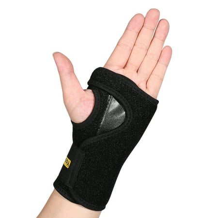 HURRISE Wrist Brace - Breathable Universal Support for Carpal Tunnel, Tendonitis, Wrist Pain & Sports Injuries , One
