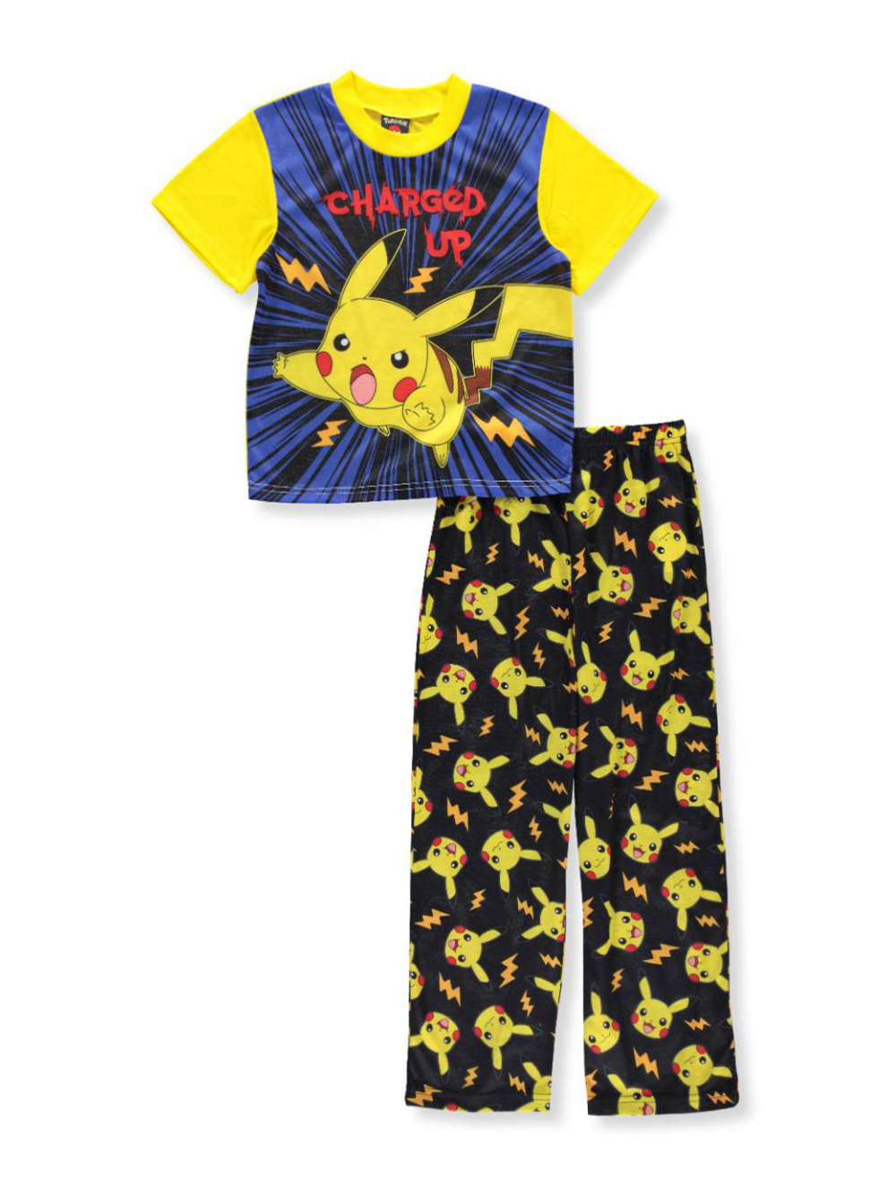 Pokemon Boys' 2-Piece Pajamas