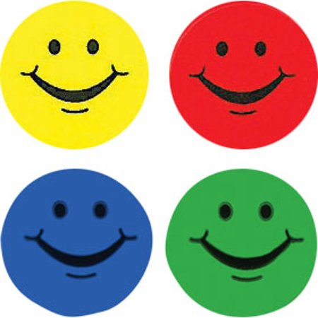 Smiling Faces Hot Spots Stickers