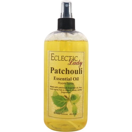 Patchouli Essential Oil Room Spray, 16 ounces ()