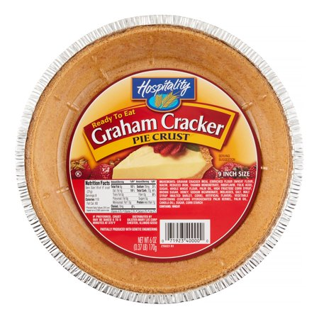 Hospitality Graham Cracker Pie Crust, 6 Oz
