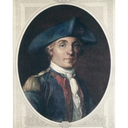 John Paul Jones American History Canvas Art - (24 x 36)