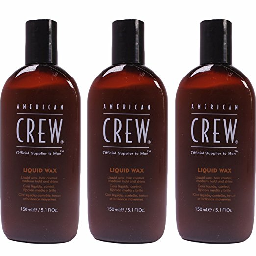Liquid Wax 5.1 oz (150 ml) by American Crew (Pack of 3)