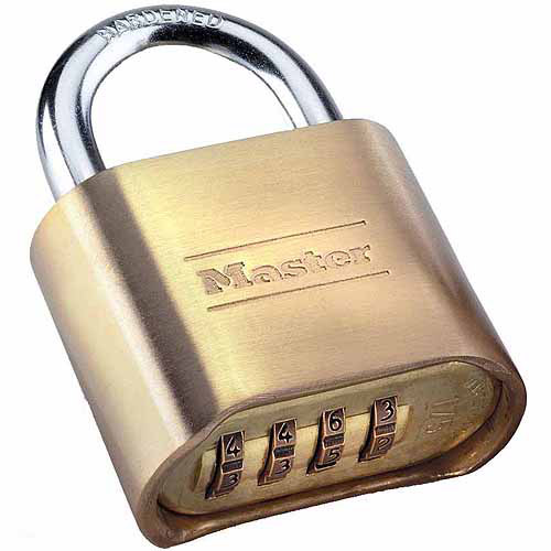 how to open a master padlock without the combination