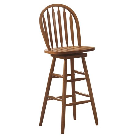 Prime Coaster Company Country Style Swivel Bar Stool Honey Caraccident5 Cool Chair Designs And Ideas Caraccident5Info