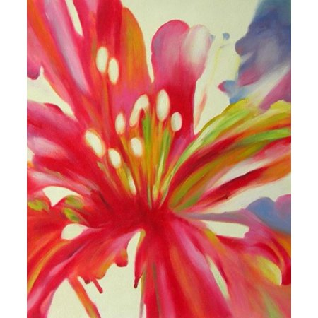 Lilies Oil Painting -