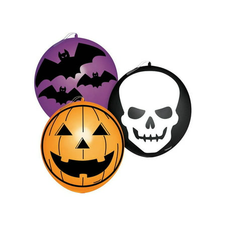 Halloween Punch Balloon (16-Pack) - Party Supplies - Halloween Party Sign Ideas