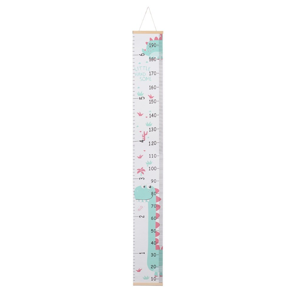 Wooden Wall Hanging Baby Height Measure Ruler Wall Sticker Child Growth Chart