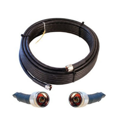 weBoost 952360 WILSON 400 ULTRA LOW-LOSS BLACK COAX CABLE, 50 OHM