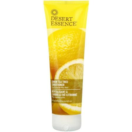 Desert Essence Organics Lemon Tea Tree Conditioner 8 Ounce, Pack of 2 Desert Essence Green Organic Conditioner