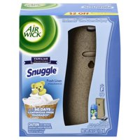 Air Wick Freshmatic Automatic Spray Kit (Gadget + 1 Refill), Snuggle Fresh Linen, Air Freshener