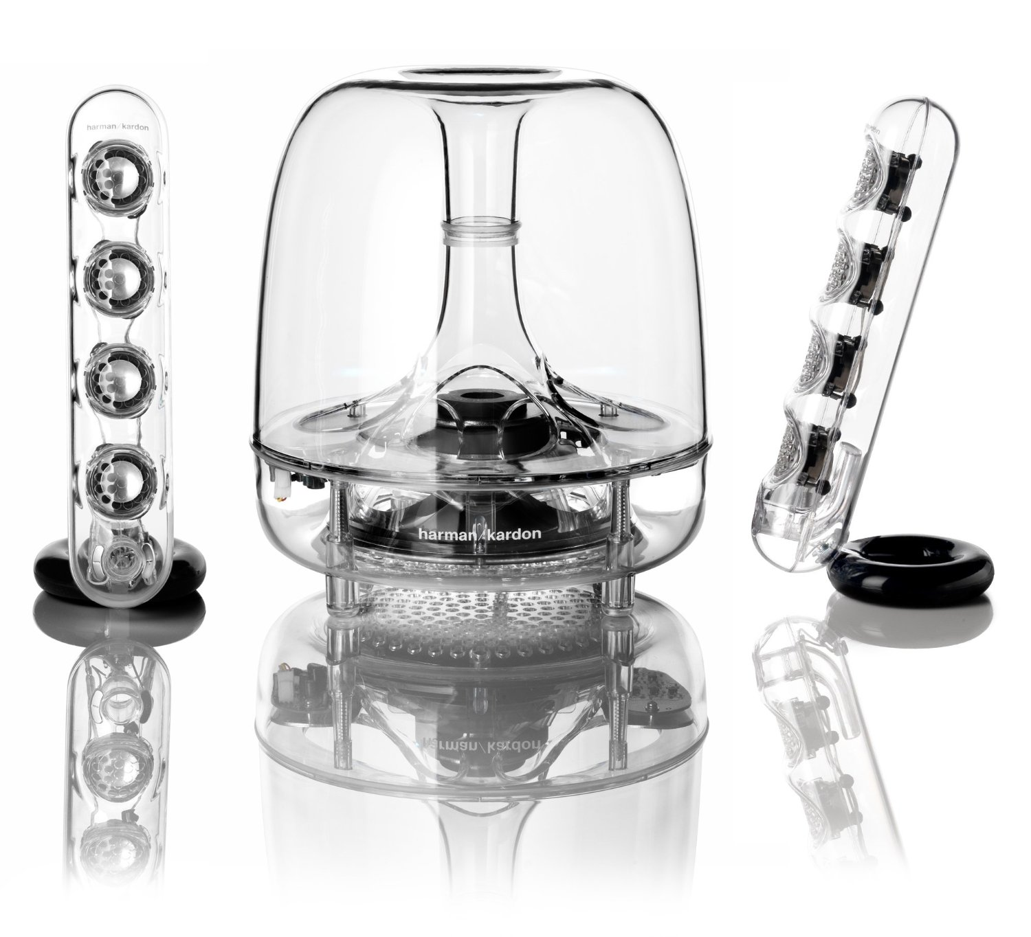Harman Kardon SoundSticks Wireless Bluetooth Enabled 2.1 Speaker System by Harman