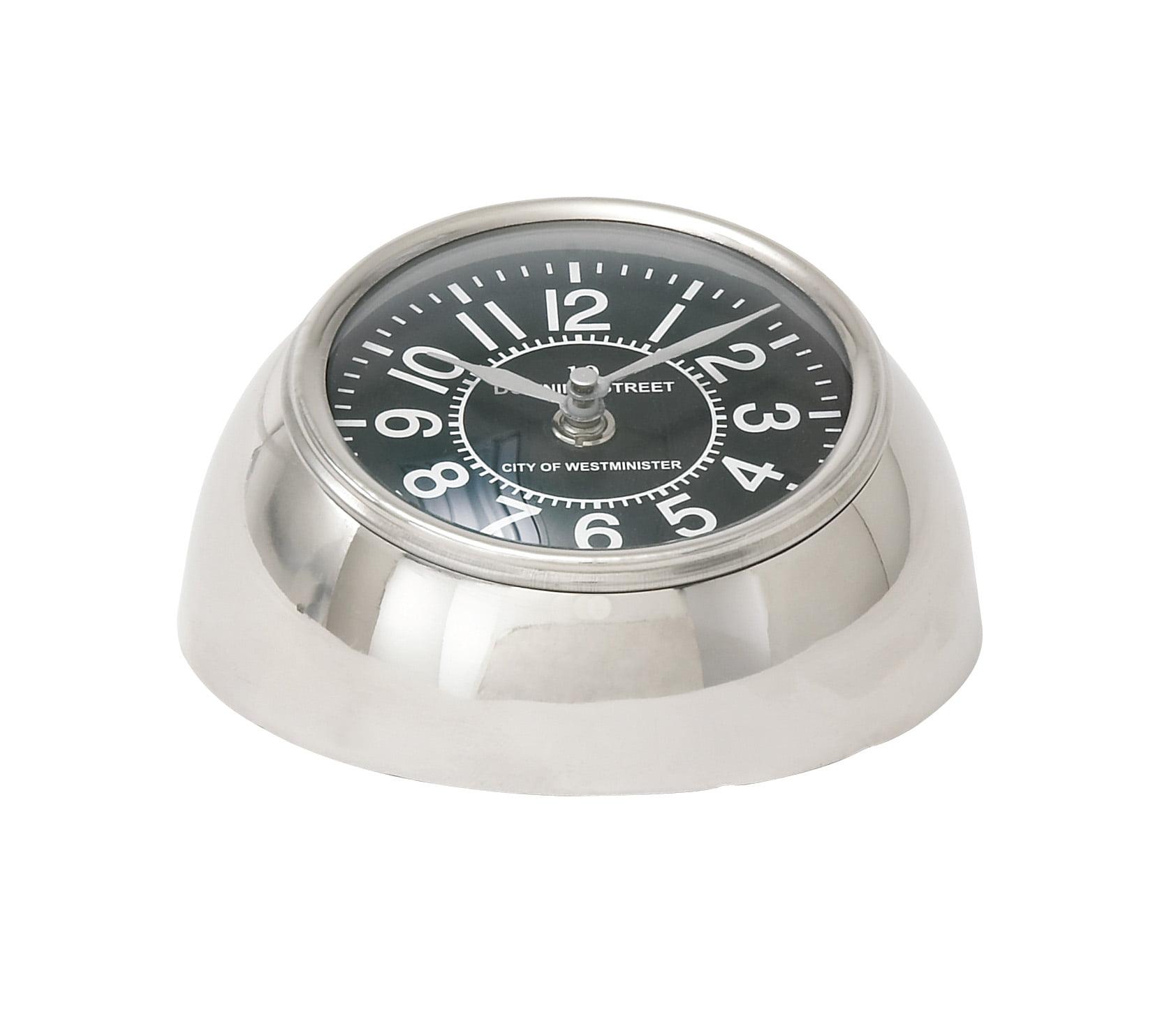 40694 Metal Table Clock by Benzara
