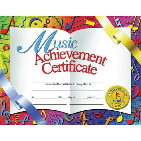 Flipside H-VA636-3 Hayes Certificates Music Achievement Inkjet Laser, 8.5 x 11 in. - 30 Per Pack - Pack of 3 Hayes Inkjet Paper