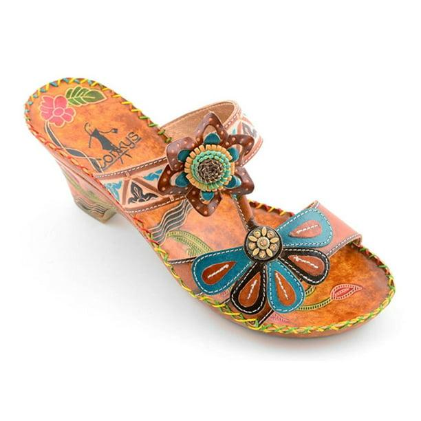 Crochet Women\u2019s Sandals Jamaican Handmade Leather Sandals