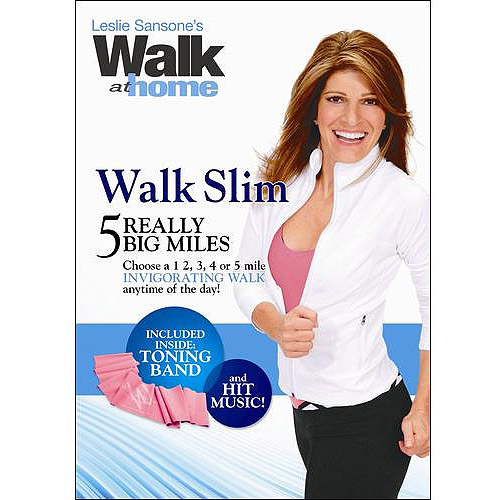 Leslie Sansone's Walk At Home: Walk Slim - 5 Really Big Miles (Full Frame)